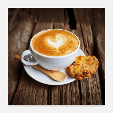 Picture Biscuit and coffee - Poster 24x24