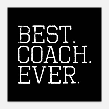 Coach Best Coach Ever - Poster