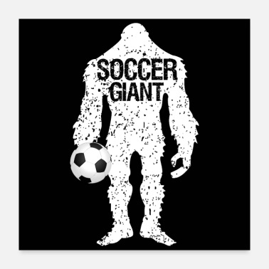 Love SOCCER GIANT Father's Day Gift - Poster