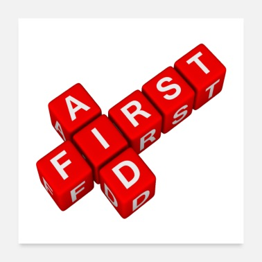 First Time First Aid Training - Poster