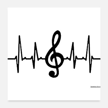 Shop Music Symbols Posters online | Spreadshirt
