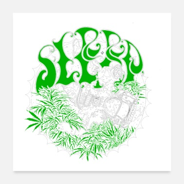 Stoner Metal sleep band stoner doom metal - Poster