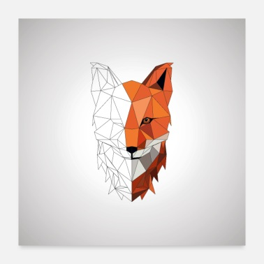 Foxes Fox - Poster