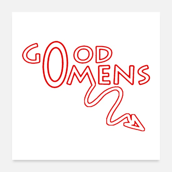 Good Posters - Ineffable Good Omens - Posters white