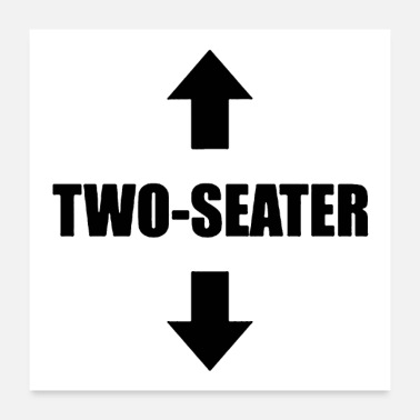 Two Two seater - Poster