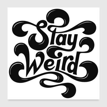 Shop Weird Wall Art online | Spreadshirt