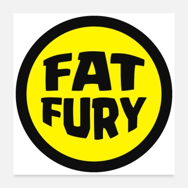 Fatima Fat Fury Herbie - Poster