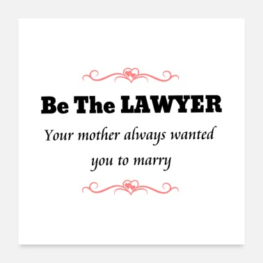 Feminist Feminist Lawyer Attorney at Law - Poster
