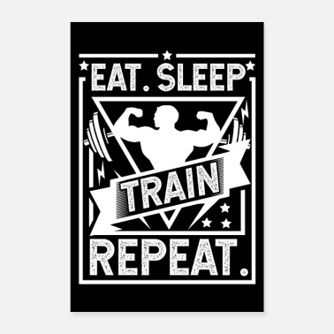 Shop Gym Posters online | Spreadshirt