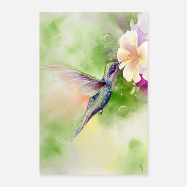 Travel Hummingbird - Poster