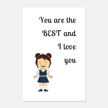 Love You I love you - Poster 8x12