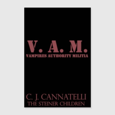 V.A.M. Poster - Blood Red - Poster 8x12