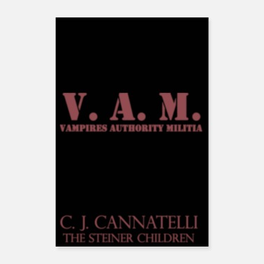 Vampire V.A.M. Poster - Blood Red - Poster 8x12