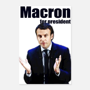 Prince MACRON FOR PRESIDENT - Poster 8x12