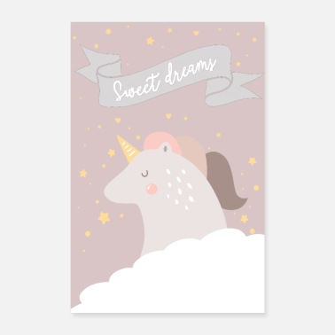 Mummy SWEET DREAMS GIRL - Poster 8x12