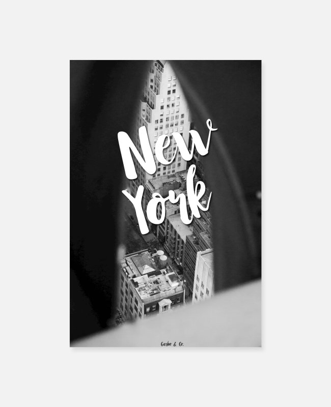 New York City Posters - New York - Posters white