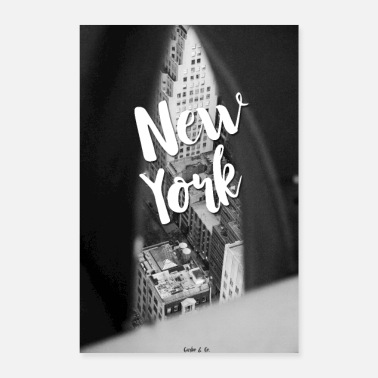 Spanish New York - Poster 8 x 12