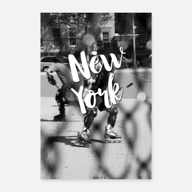 Typography New York - Poster 8x12