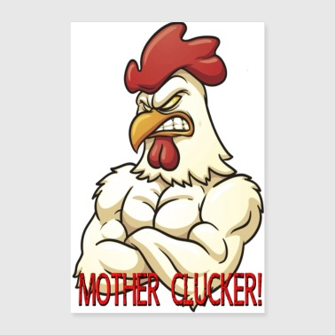 Clucker Poster - Poster 8x12