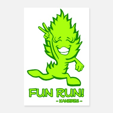 Cannabis Fun Run! - Poster 8x12