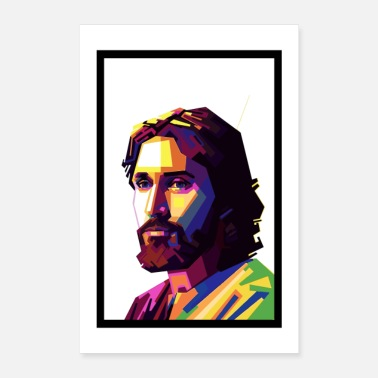 shop jesus christ posters online spreadshirt