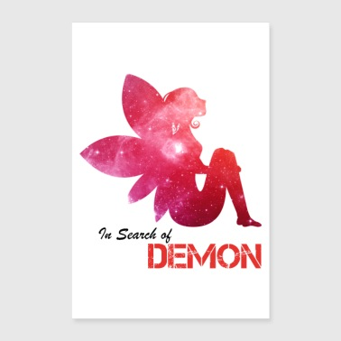 Angel in search of Demon - Poster 8x12