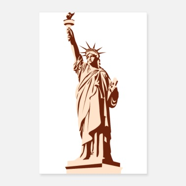 Region Statue of Liberty - Poster