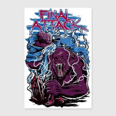 Final Attack - Poster 8x12