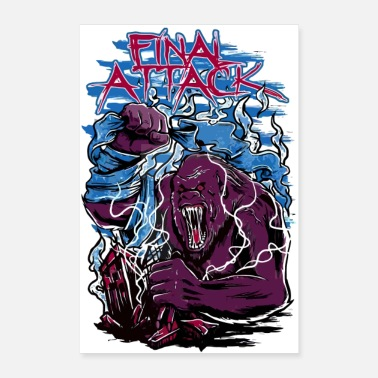 Final Attack - Poster 8 x 12