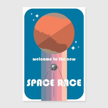 WELCOME TO THE NEW SPACE RACE - Poster 8x12