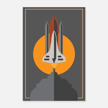 Space Ship SPACE SHUTTLE POSTER - Poster