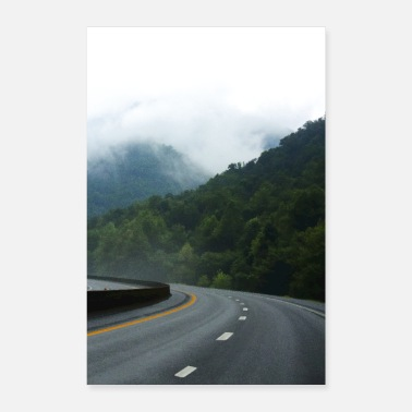 Travel American Freeway - Poster 8x12