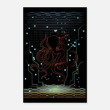 Series Octopus - Poster 8x12