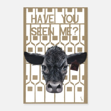 Milk Have You Seen Me? - Poster 8x12
