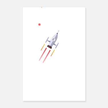 Space space - Poster 8 x 12