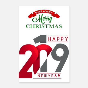 New Year welcom new year - Poster 8x12