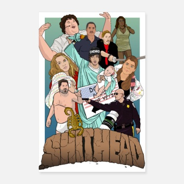 Movie SHITHEAD the MOVIE the POSTER - Poster 8 x 12