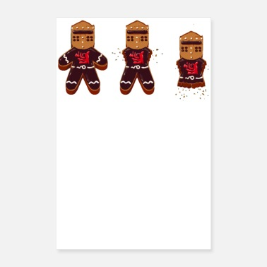 Knight Gingerbread Knight - Poster 8 x 12