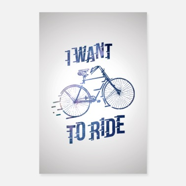 Cycling Bicycle - Poster