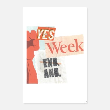Language Yes weekend_PilouB.-Poster - Poster 8 x 12