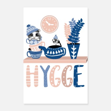 Hyggecontest Hygge COLOR - Poster