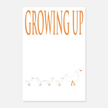 Up GROWING UP - Poster