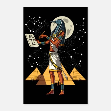 Egyptian King Egyptian God Thoth - Poster
