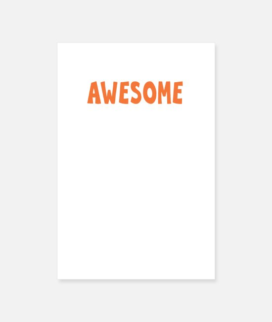 Father And Son Posters - this guy is one awesome father - Posters white