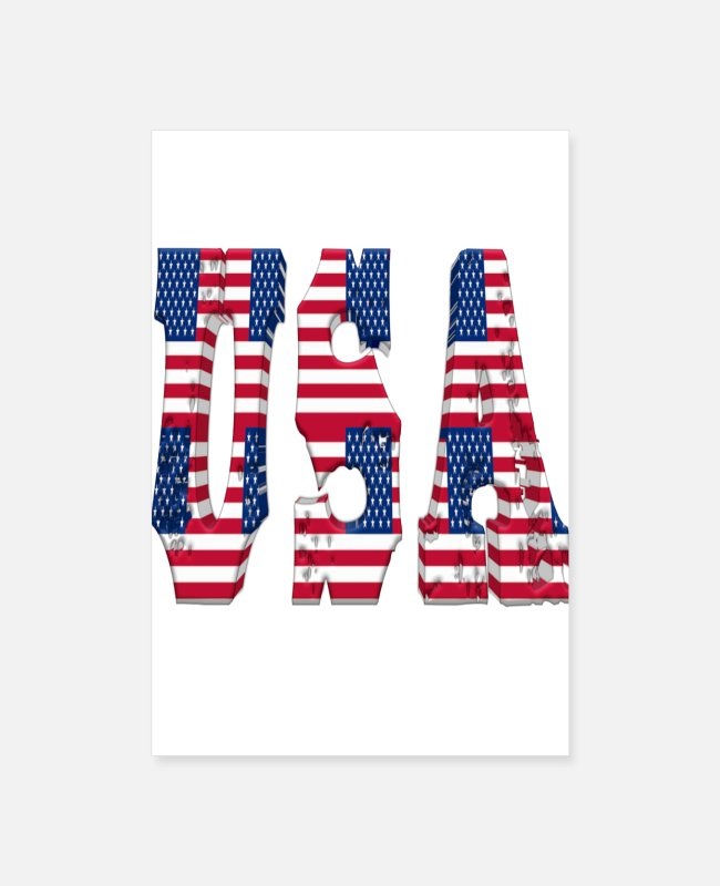Design Posters - Usa - Posters white