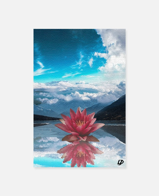 Nature Posters - BLOOM - Poster - Posters white