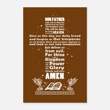 Prayer The Lord's Prayer - Poster