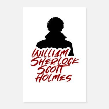 Williams William Sherlock Scott - Poster