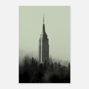 State Empire State of Mind - Poster 8 x 12