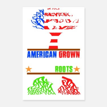 Italian new hot american grown italian roots - Poster 8 x 12